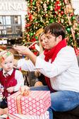 Family having fun with their son — Stock Photo