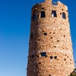 Desert View Watchtower Grand Canyon — Stock Photo #61545111
