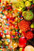 Christmas tree close up view — Stok fotoğraf