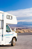 RV camping at Death Valley — Stock Photo
