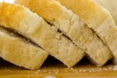 Freshly baked sourdough bread sliced — 图库照片