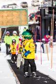 Ski resort at Arapahoe Basin, Colorado — Stock Photo