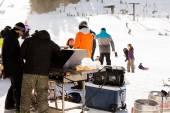 Ski resort at Arapahoe Basin, Colorado — Stock fotografie