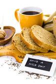 Artisan sourdough rye bread — Foto de Stock