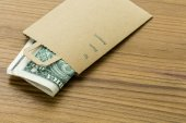Tips for services in a small envelope — Stock Photo