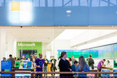 Indoor shopping mall in United States. — Stock Photo