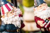 Garden gnomes sculptures — Stock fotografie