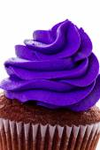 Cupcake with bright color icing — Stockfoto