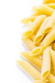 有机黄色 rigate 面食 — 图库照片