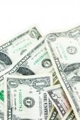 American bills, US money — Stock Photo