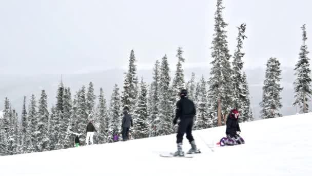 Typical weekend at Loveland pass — Vidéo