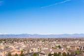 Typical suburbia in North America. — Stock Photo