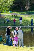 Annual Fishing Derby — Stockfoto