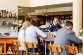 Sunday at Mercantile restaurant — Stock Photo