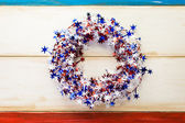 July 4th decorations — Stock Photo