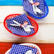 July fourth Table set — Stock Photo #75221983