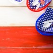 July fourth Table set — Stock Photo #75221937