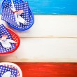 July fourth Table set — Stock Photo #75221943
