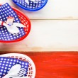 July fourth Table set — Stock Photo #75222013