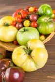 Fresh Heirloom Tomatoes — Stock Photo