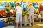 Latem rynku rolników — Zdjęcie stockowe