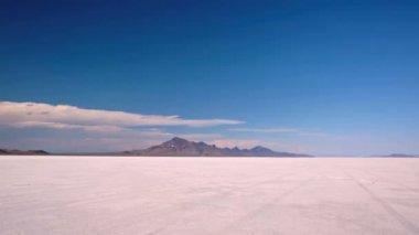 Bonneville Salt Flats — Stock Video