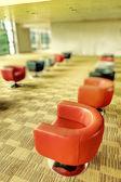 Modern interior office sofa of a hall — Stock Photo