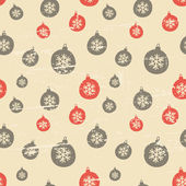 Seamless Vintage Christmas Background — Stock Vector