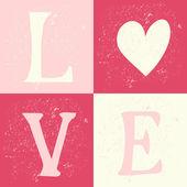 День Святого Валентина типографский дизайн карты — Cтоковый вектор