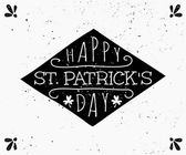 Hand Drawn St. Patrick's Day Card — Stock Vector