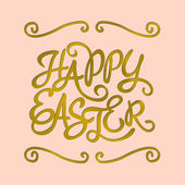 Easter Day Greeting Card — Stock Vector