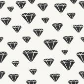 Diamond Shapes Seamless Pattern — Stock Vector