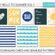 Greeting Card Templates Collection — Stock Vector #70834669