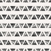 Abstract Triangular Shapes Seamless Pattern — Stock Vector
