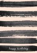 Hand Drawn Brush Strokes Design — Stock Vector