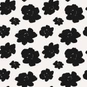 Çiçekler seamless modeli — Stok Vektör