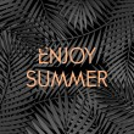 Enjoy Summer Poster Design — Stock Vector #73549905