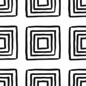 Square Shapes Seamless Pattern — Stock Vector