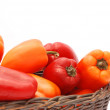 Red and orange peppers — Stock Photo #63360203