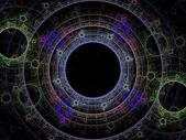 Dancing orbs of energy — Foto de Stock