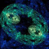 Bactéries au microscope — Photo