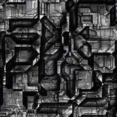无缝的科幻背景 — 图库照片