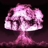 Nuclear mushroom — Stock Photo