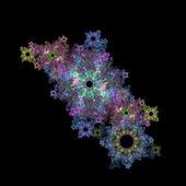 Crecimiento simétrico de las bacterias — Foto de Stock