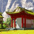 Buddhist shrine in the mountains — Stock Photo #57298393