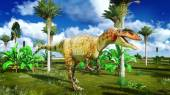 Allosaurus fragilis — Stockfoto