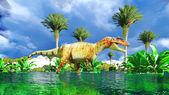 Allosaurus fragilis — Stock Photo
