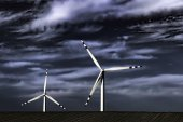 Windmolens — Stockfoto