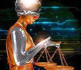 Signora della giustizia — Foto Stock