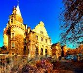 Awesome Moszna  castle — Stock Photo